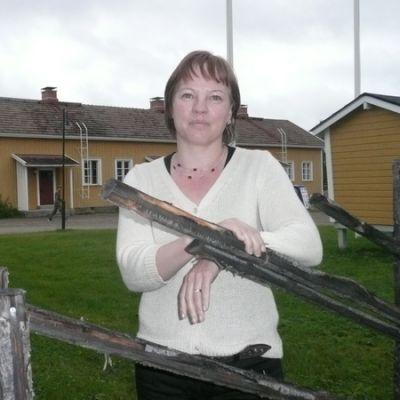 Sallan sota- ja jälleenrakennusmuseon johtaja Nina Sipola.