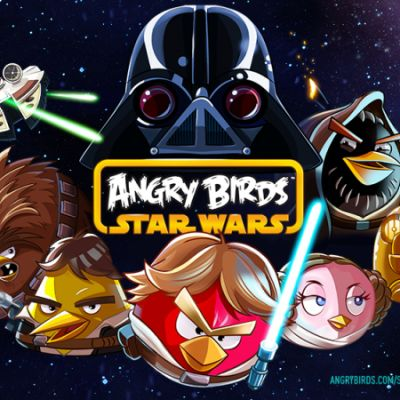 Kuva Angry Birds Star Wars -pelistä.
