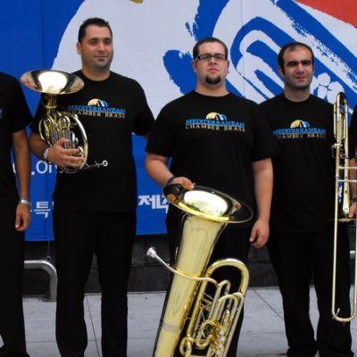 The Mediterranean Chamber Brass.
