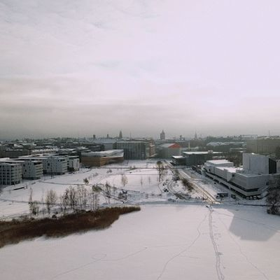 Helsingin muinaiset järvet.
