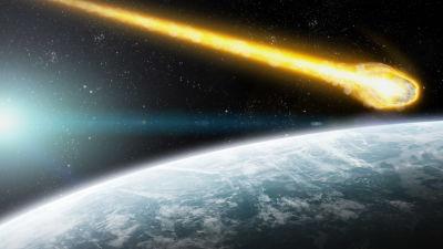 Asteroid påväg mot jorden