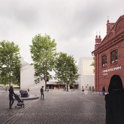Sara Hildénin taidemuseon arkkitehtuurikilpailu on ratkaistu. Kilpailun voitti ehdotus Lumen Valo, jonka tekijä on arkkitehti Janne Hovi.