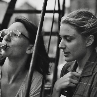 Mickey Summer och Greta Gerwig i Frances Ha.