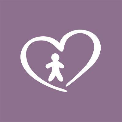Piirretty sydän, jonka sisällä ihmishahmo.