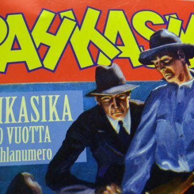 Pahkasika-lehden uusin numero.