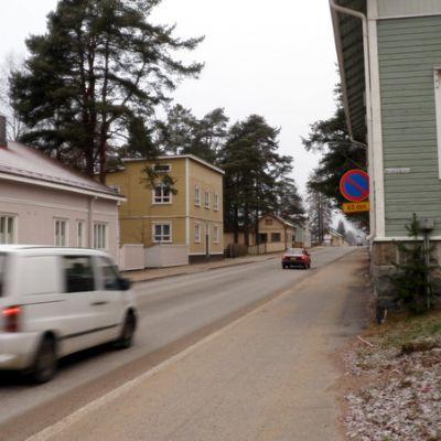Katunäkymää Nurmeksesta.