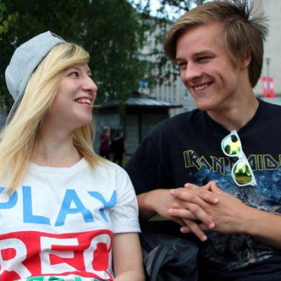 Soikku ja hänen poikaystävänsä Sami Tuunanen