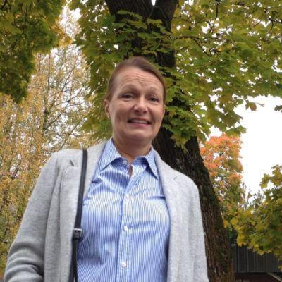 Kansanedustaja Lenita Toivakka (kok.)