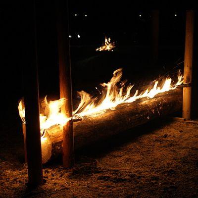Erätulet paloivat Parikkalassa sunnuntaina 18.12.2011