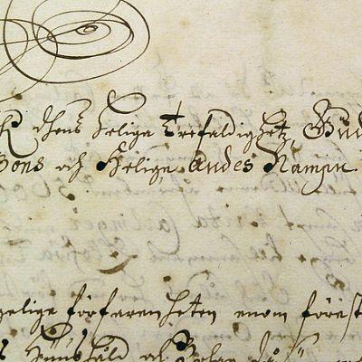 Arkiston vanhin dokumentti on 1670-luvulta peräisin oleva perunkirja.
