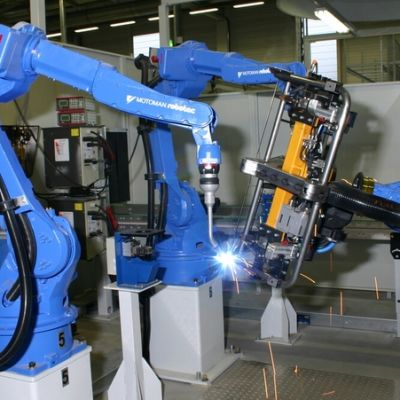 Yaskawan robotit tehdään Japanissa.