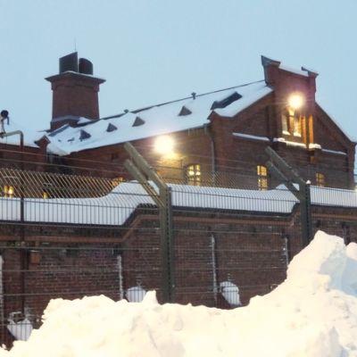 Helsingin vankila ulkoa.