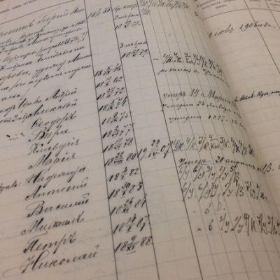 Ortodoksisten seurakuntien kirkonkirjat kirjoitettiin venäjäksi.