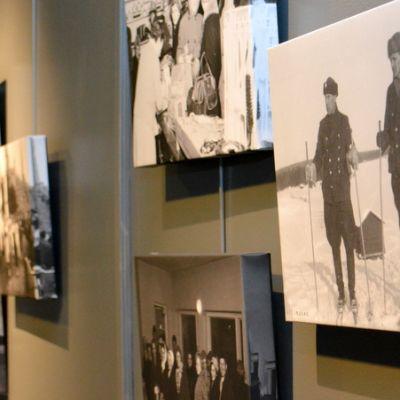 Rajalla valokuvanäyttely Tornionlaakson maakuntamuseo.