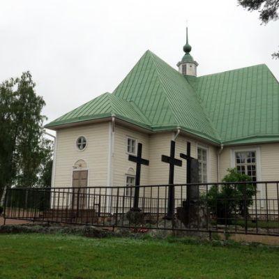 Virolahden kirkko.