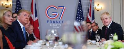 G7 möte i Biarritz.
