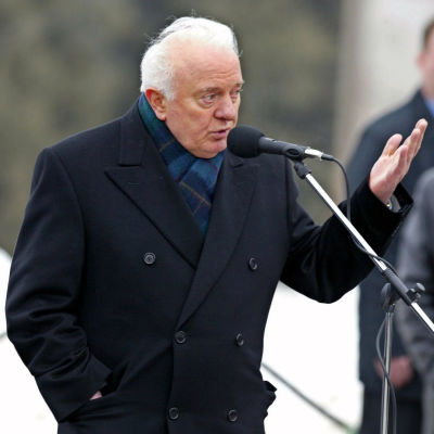 Georgiens ex-president Eduard Shevardnadze