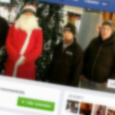 Kuvakaappaus Soldiers of Odin Joensuun Facebook-ryhmästä.