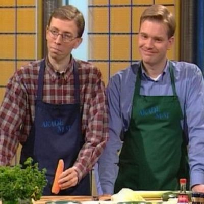 Akademat och vegetarisk mat, Yle 2000