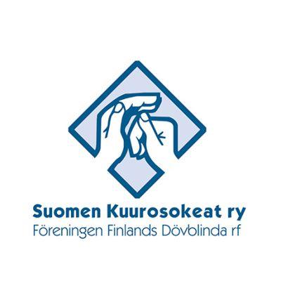 Suomen kuurosokeat ry:n logo