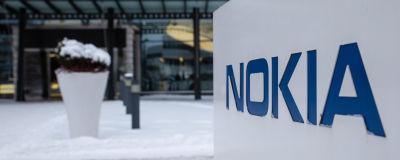 Nokias huvudkontor i Esbo i januari 2019.