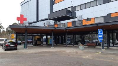 Aktumottagningen vid Vasa centralsjukhus.