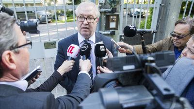 Akavas ordförande Sture Fjäder på Gullranda i juni 2016.