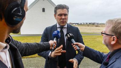Islands statsminister Bjarni Benediktsson