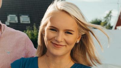 Porträttbild av studenten Sonja Nordman.