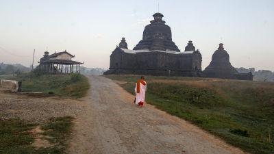 Buddisttempel i Burma.