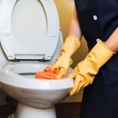 vessanpynttyä siivotaan