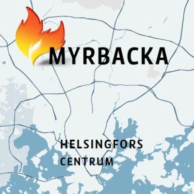 Karta över Helingforsregionen.