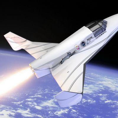 XCOR Lynx kaupallinen avaruusalus.