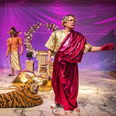 Julius Caesar på scenen.