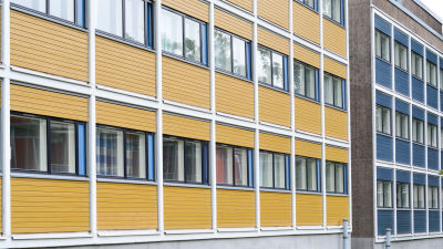 Studentbyn i Åbo.