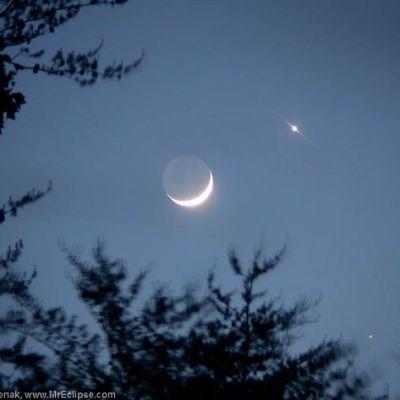 Kuu ja Venus