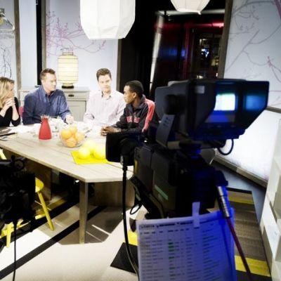 Diskussion i studion i G18