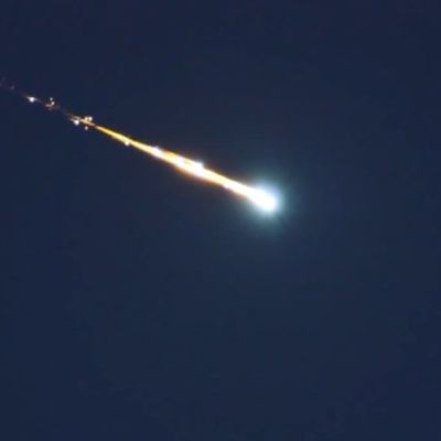 Nasa-arkivbild av meteoroiden.