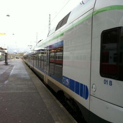 Tåg i Helsingfors