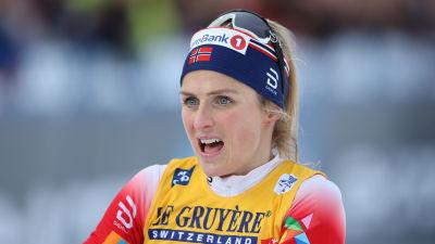 Therese Johaug gapar.