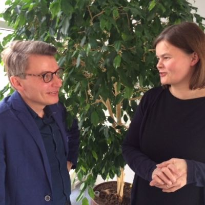 Petter Lindberg, Silja Sahlgren-Fodstad