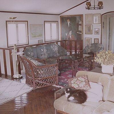 Interiör i Villa Biaudet,
