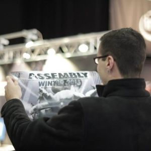 Assembly Winter 2015 -tapahtuma on alkanut Helsingissä