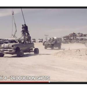Typiska Mad Max-bilar är att vänta