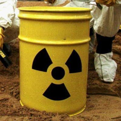 Tunna med kärnavfall