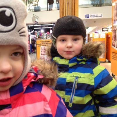 Minea och William Granmo är tvåäggstvillingar.
