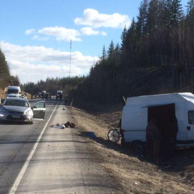 Liikenneonnettomuus Ylöjärvellä