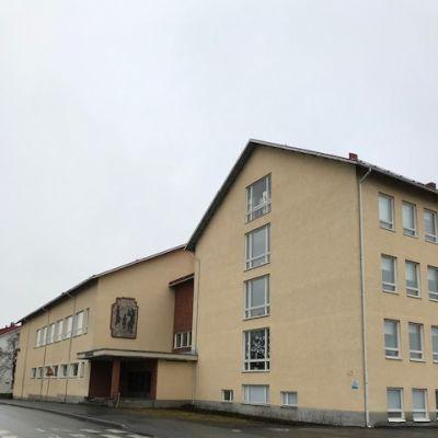 Kuvassa Forssan keskuskoulu