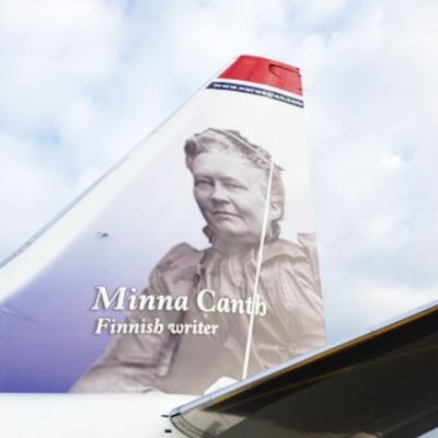 Minna Canth flyger med Norwegian