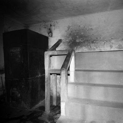 Näkymä Hernesaarenkadun saunan löylyhuoneeseen vuonna 1972.